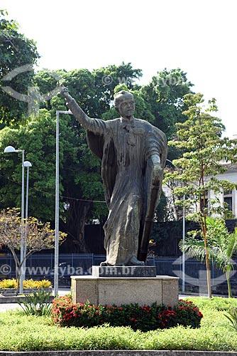Monumento à Ruy Barbosa (1966) na Praça dos Expedicionários  - Rio de Janeiro - Rio de Janeiro (RJ) - Brasil
