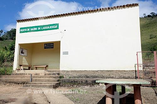 Posto de saúde próximo ao distrito de Conceição de Ibitipoca  - Lima Duarte - Minas Gerais (MG) - Brasil