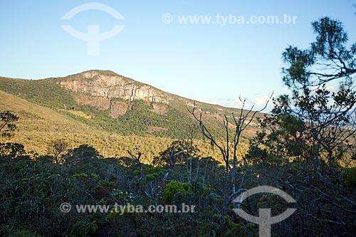 Vista do Parque Estadual do Ibitipoca durante a trilha do circuito de água  - Lima Duarte - Minas Gerais (MG) - Brasil