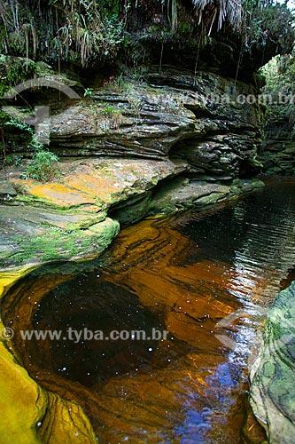 Rio no Parque Estadual do Ibitipoca próximo à Janela do Céu  - Lima Duarte - Minas Gerais (MG) - Brasil