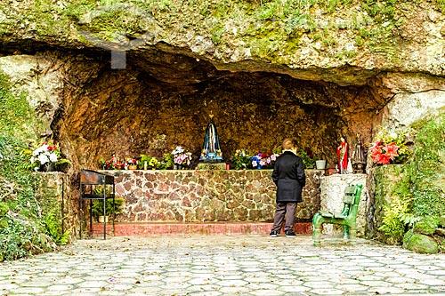 Gruta de Nossa Senhora Aparecida  - Treze Tílias - Santa Catarina (SC) - Brasil