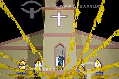 Fachada da Igreja de São Roque  - Rio de Janeiro - Rio de Janeiro (RJ) - Brasil