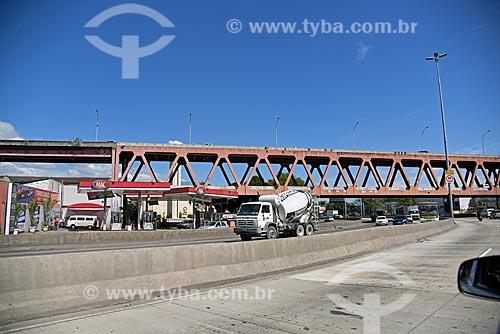 Viaduto da Linha Vermelha sobre de Avenida Brasil  - Rio de Janeiro - Rio de Janeiro (RJ) - Brasil