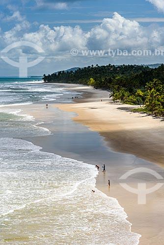 Vista da orla da Praia de Itacarezinho  - Itacaré - Bahia (BA) - Brasil
