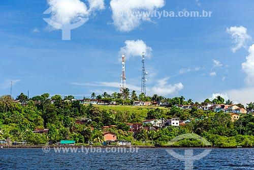 Vista da cidade de Camamu à partir da Baía de Camamu  - Camamu - Bahia (BA) - Brasil