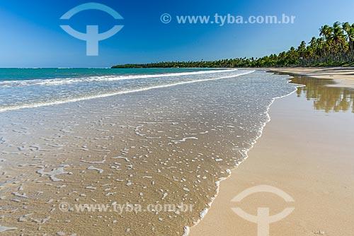 Vista da orla da Praia de Garapuá  - Cairu - Bahia (BA) - Brasil