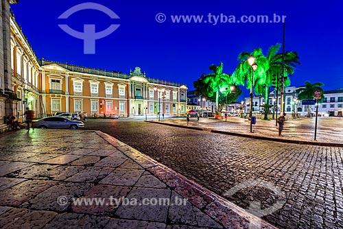 Vista da Faculdade de Medicina da Universidade Federal da Bahia (1808) - primeira faculdade de medicina do Brasil  - Salvador - Bahia (BA) - Brasil