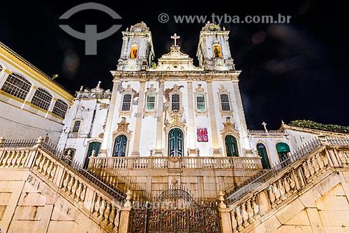 Fachada da Igreja e Convento de Nossa Senhora do Carmo  - Salvador - Bahia (BA) - Brasil