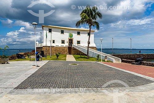 Vista do Forte de Santa Maria (1696)  - Salvador - Bahia (BA) - Brasil