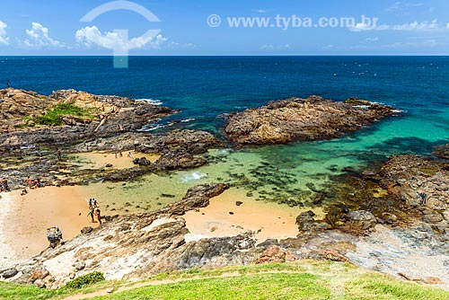 Vista da orla da Praia da Barra  - Salvador - Bahia (BA) - Brasil