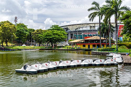 Pedalinhos no Dique do Tororó  - Salvador - Bahia (BA) - Brasil