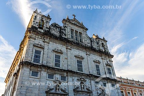 Fachada da Catedral Basílica Primacial de São Salvador (1672)  - Salvador - Bahia (BA) - Brasil