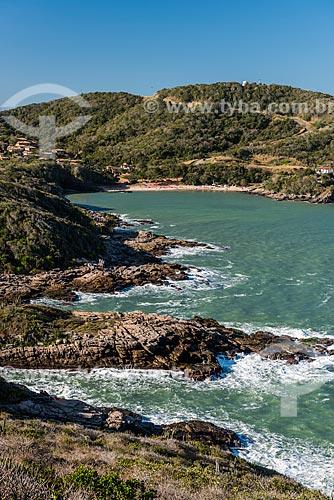 Vista da Praia do Forno a partir do Mirante do Forno  - Armação dos Búzios - Rio de Janeiro (RJ) - Brasil