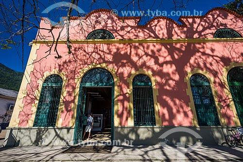 Fachada do centro de visitantes da Vila do Abraão  - Angra dos Reis - Rio de Janeiro (RJ) - Brasil