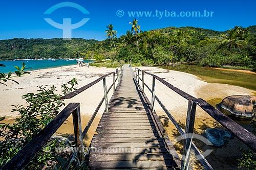 Passarela de acesso a Praia dos Mangues  - Angra dos Reis - Rio de Janeiro (RJ) - Brasil