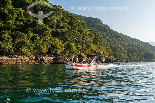 Táxi marítimo na Baía de Ilha Grande  - Angra dos Reis - Rio de Janeiro (RJ) - Brasil