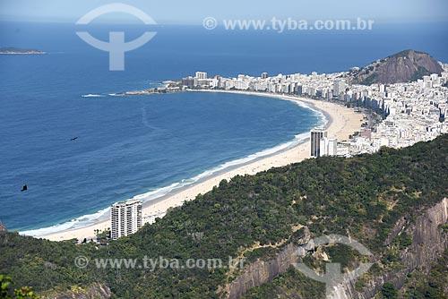 Vista do bairro de Copacabana a partir do Pão de Açúcar  - Rio de Janeiro - Rio de Janeiro (RJ) - Brasil
