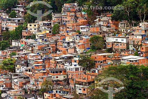 Vista do Morro Chapéu Mangueira  - Rio de Janeiro - Rio de Janeiro (RJ) - Brasil