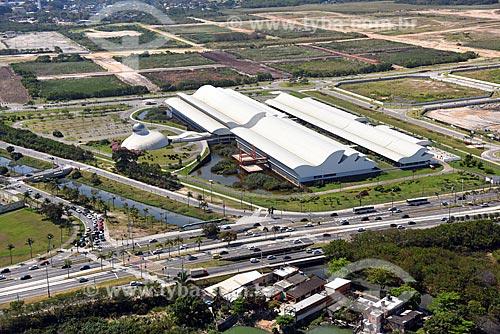 Foto aérea do Centro Internacional Sarah de Neuroreabilitação e Neurociências  - Rio de Janeiro - Rio de Janeiro (RJ) - Brasil