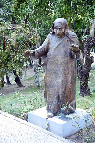 Estátua de Madre Teresa de Calcutá na Catedral de São Sebastião do Rio de Janeiro  - Rio de Janeiro - Rio de Janeiro (RJ) - Brasil