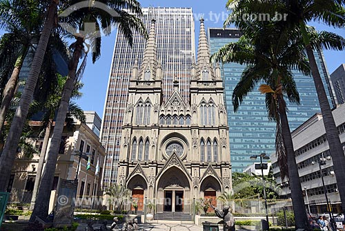 Fachada da Catedral Presbiteriana do Rio de Janeiro  - Rio de Janeiro - Rio de Janeiro (RJ) - Brasil