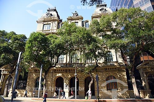 Fachada do Centro Cultural Justiça Federal (1909)  - Rio de Janeiro - Rio de Janeiro (RJ) - Brasil