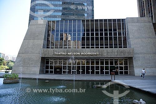 Fachada do Centro Cultural da Caixa Econômica Federal - Teatro Nelson Rodrigues  - Rio de Janeiro - Rio de Janeiro (RJ) - Brasil