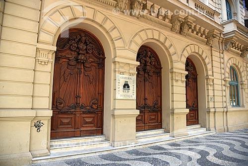 Fachada do Centro Cultural Justiça Federal  - Rio de Janeiro - Rio de Janeiro (RJ) - Brasil