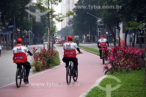 Policiamento com bicicletas da Operação Centro Presente  - Rio de Janeiro - Rio de Janeiro (RJ) - Brasil