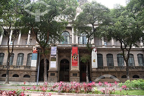 Fachada do Museu Nacional de Belas Artes  - Rio de Janeiro - Rio de Janeiro (RJ) - Brasil