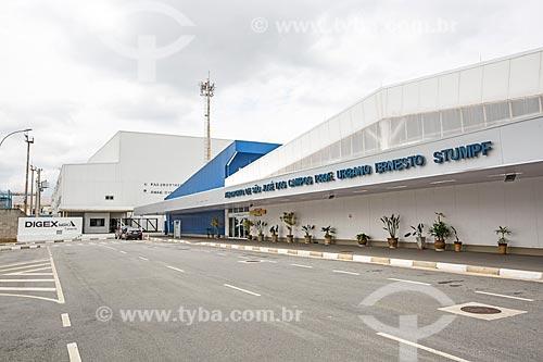 Fachada do Aeroporto Internacional de São José dos Campos - Professor Urbano Ernesto Stumpf (1940)  - São José dos Campos - São Paulo (SP) - Brasil