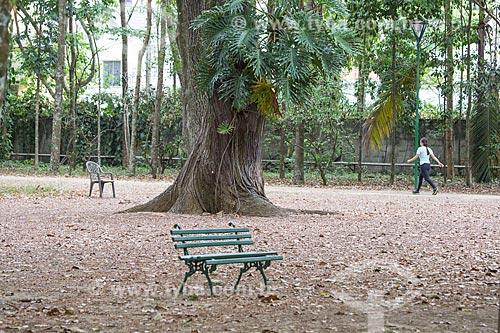 Banco no Parque Vicentina Aranha  - São José dos Campos - São Paulo (SP) - Brasil