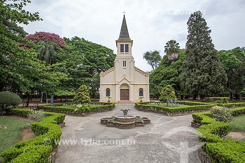 Capela do Sagrado Coração de Jesus no Parque Vicentina Aranha  - São José dos Campos - São Paulo (SP) - Brasil