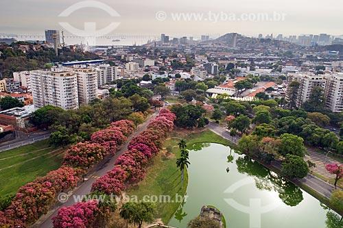 Vista aérea da Quinta da Boa Vista  - Rio de Janeiro - Rio de Janeiro (RJ) - Brasil