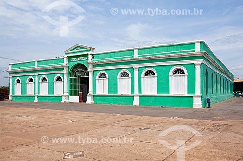 Museu do Rio Cuiabá Hid Alfredo Scaff - instalado no antigo Mercado Público foi construído em 1889 e restaurado em 1999  - Cuiabá - Mato Grosso (MT) - Brasil