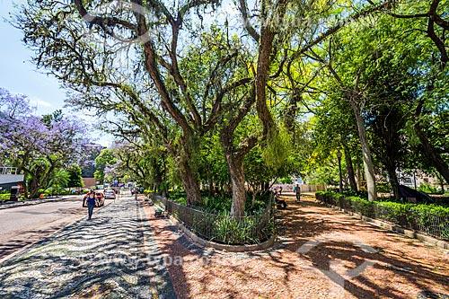 Praça Marechal Deodoro - mais conhecida como Praça da Matriz  - Porto Alegre - Rio Grande do Sul (RS) - Brasil
