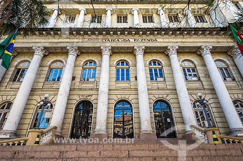 Fachada da Secretaria de Fazenda do Estado do Rio Grande do Sul (1920)  - Porto Alegre - Rio Grande do Sul (RS) - Brasil