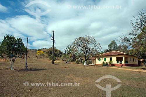 Fazenda de gado leiteiro e hotel fazenda na zona rural da cidade de Vargem Bonita  - Vargem Bonita - Minas Gerais (MG) - Brasil