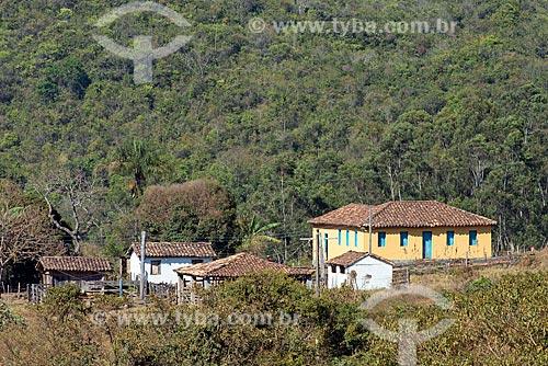 Sede de fazenda e hotel fazenda na zona rural da cidade do distrito de São José do Barreiro  - São Roque de Minas - Minas Gerais (MG) - Brasil