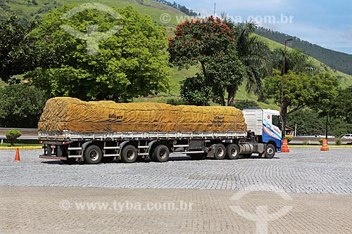 Caminhão na Rodovia Presidente Dutra (BR-116)  - Queluz - São Paulo (SP) - Brasil