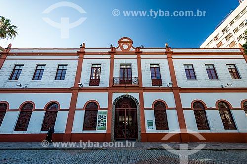 Fachada do Museu do Comando Militar do Sul (Século XIX)  - Porto Alegre - Rio Grande do Sul (RS) - Brasil