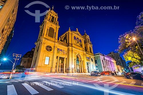 Fachada da Catedral Metropolitana de Porto Alegre (1929)  - Porto Alegre - Rio Grande do Sul (RS) - Brasil