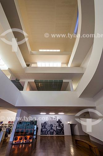 Interior da Fundação Iberê Camargo (2008)  - Porto Alegre - Rio Grande do Sul (RS) - Brasil