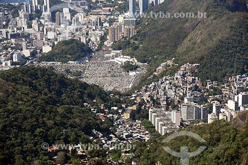 Foto aérea do Cemitério São João Batista  - Rio de Janeiro - Rio de Janeiro (RJ) - Brasil
