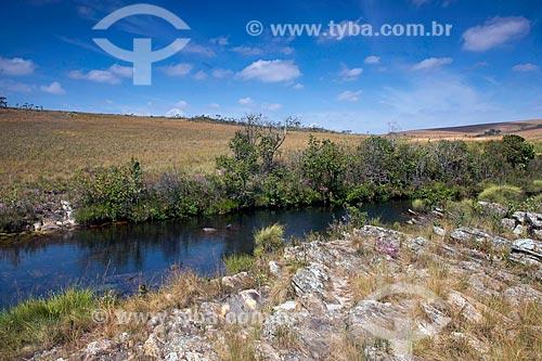 Rio Samburá no Parque Nacional da Serra da Canastra  - São Roque de Minas - Minas Gerais (MG) - Brasil