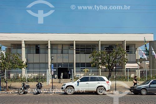 Fachada do Fórum de Piumhi  - Piumhi - Minas Gerais (MG) - Brasil