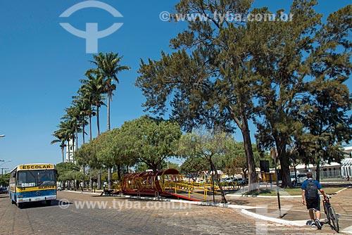 Vista da Praça Doutor Avelino Queiroz  - Piumhi - Minas Gerais (MG) - Brasil