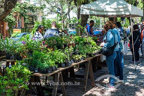 Plantas à venda no Parque Farroupilha - também conhecido como Parque da Redenção  - Porto Alegre - Rio Grande do Sul (RS) - Brasil