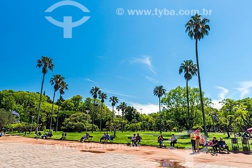 Vista do Parque Farroupilha - também conhecido como Parque da Redenção  - Porto Alegre - Rio Grande do Sul (RS) - Brasil