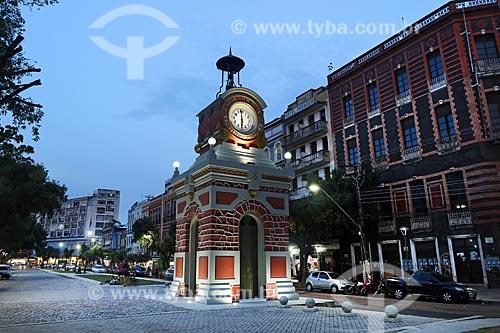 Relógio Municipal de Manaus na Praça do Relógio  - Manaus - Amazonas (AM) - Brasil